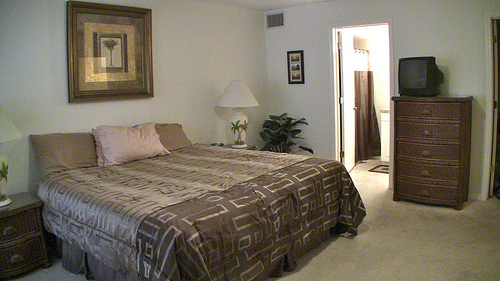 Master Bedroom in Indian Shores condos for sale - with walk in closets